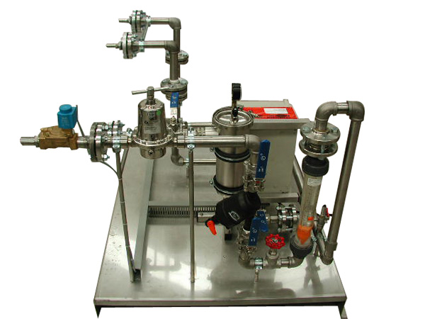 Post-dilution unit